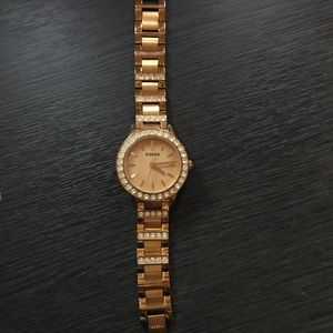 Fossil Jesse Rose-Tone Stainless Steel watch
